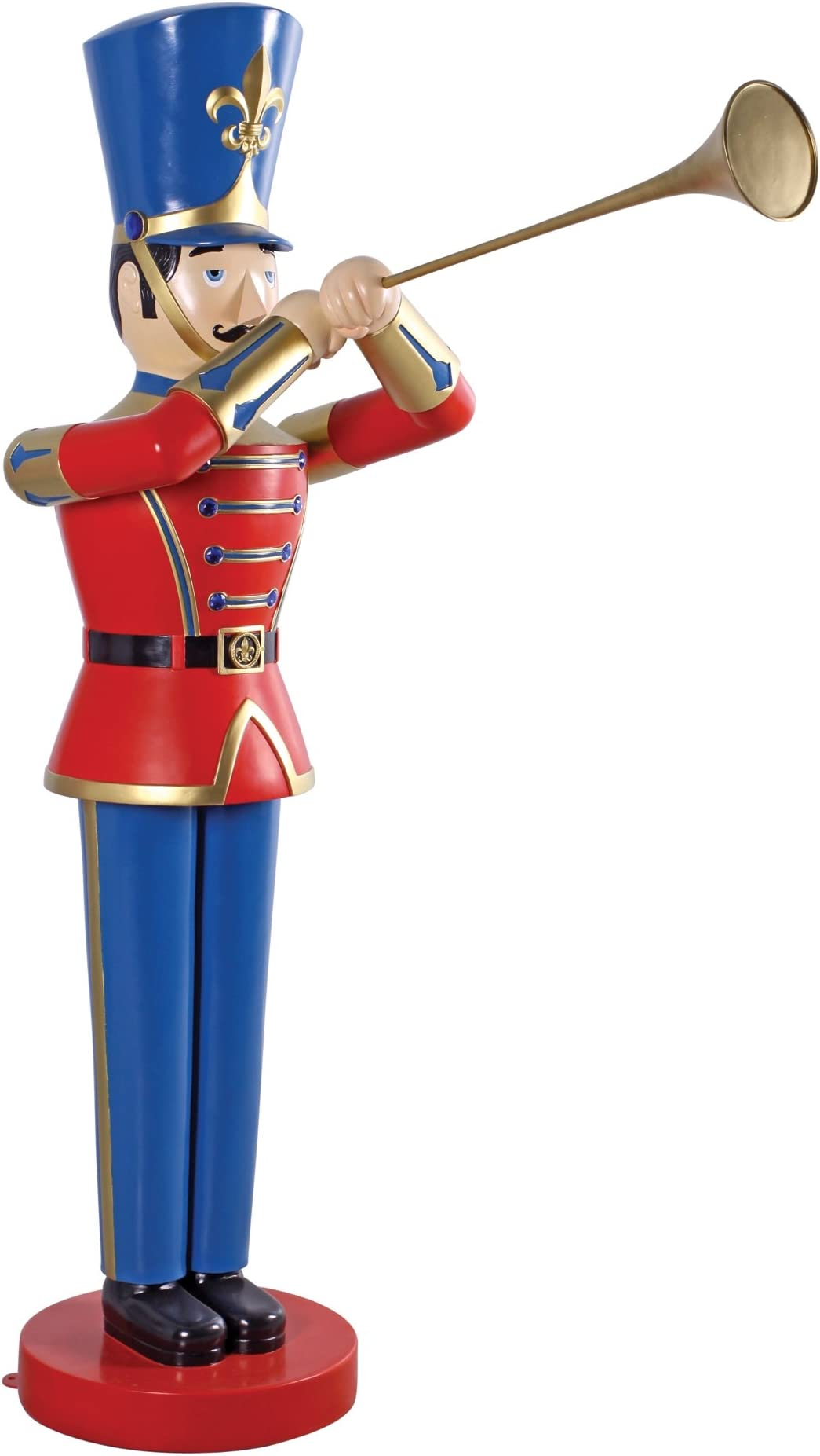 Tall Holiday Soldier Statues