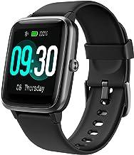 GRDE Reloj Inteligente Mujer Niños, Smartwatch con Monitoreo del (Pulsómetro/Cardíaco/Sueño) Reloj 5ATM Impermeable con 9 Deportivo Modo, Reloj con Despertador y Cronómetro para Huawei Samsung Xiaomi