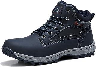 ARRIGO BELLO Bottes Homme Femme Bottine Bottes de Neige Boots Hiver Chaussures Chaudes Fourrure Randonnée Les Loisirs 36-4...