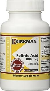 Kirkman Labs Folinic Acid 800 mcg 180 Capsules