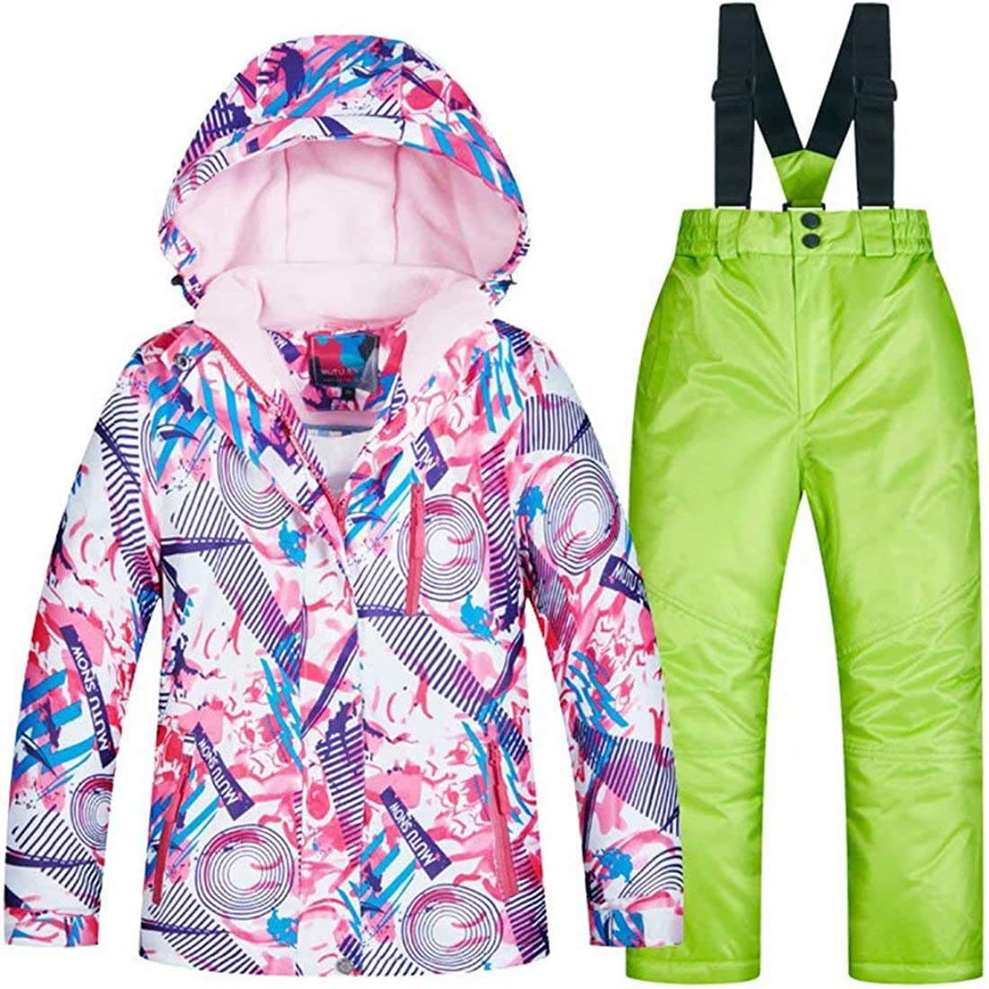 OLEK Girls Waterproof Ski Tampa Mall Snowboarding Pants Ins Set and Jackets Today's only