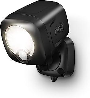 Ring Smart Lighting – Spotlight, Battery-Powered, Outdoor Motion-Sensor Security Light, Black (Ring Bridge required)