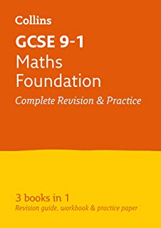 GCSE 9-1 Maths Foundation All-in-One Complete Revision and Practice: Ideal for Home Learning, 2021 Assessments and 2022 Exams