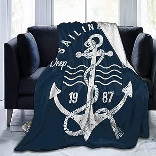 Delerain Anchor Soft Throw Blanket 40