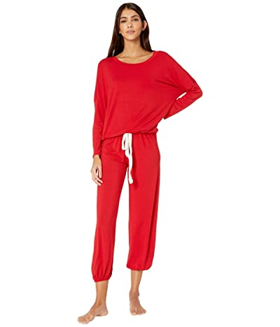 Eberjey Gisele The Slouchy Boxed Set (Haute Red/Ivory) Women