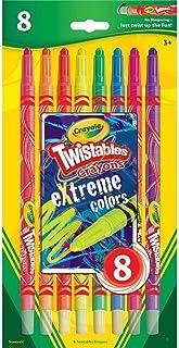 Crayola Twistables Extreme Color Crayons-8/Pkg