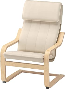 Ikea Poang Children's Armchair, Birch Veneer, Almas Natural