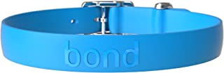 Bond Pet Products Durable Dog Collar   Comfortable, Easy to Clean & Waterproof Collars for Dogs   High Performance Weatherproof Elastomer Rubber