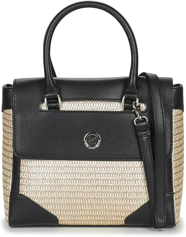 Ted Lapidus SICILIA Handtaschen damen Schwarz Handtasche B07PXV7YZF