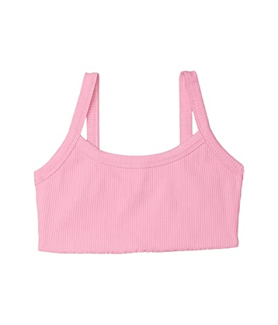YEAR OF OURS Ribbed Bralet 2.0 (True Pink) Women