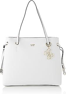 Guess Digital Charm Logo Shopper, Bolso de mano para Mujer, Stampa, Talla única
