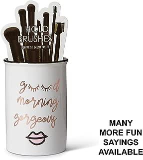 Tri-coastal Design Ceramic Makeup Brush Holder Storage