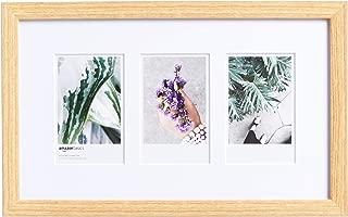 AmazonBasics Photo Frame for use with Instax - 3-Opening - 3.25