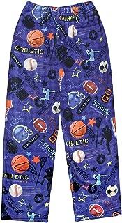 iscream Big Boys Silky Soft Plush Fleece Pants - Sports Collection