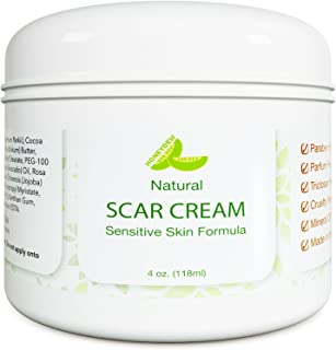 Best Scar Cream for Face - Vitamin E Oil for Skin After Surgery - Stretch Mark Remover for Men & Women - Anti Aging Lotion...