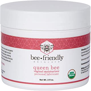 Organic Vaginal Moisturizer By BeeFriendly, USDA Certified, Natural Vulva Cream For Dryness, Itching, Irritation, Redness,...