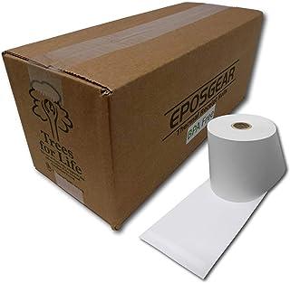 Eposgear - Juego de 20 rollos de papel para máquina registradora (57 x 57 mm, 20 rollos)