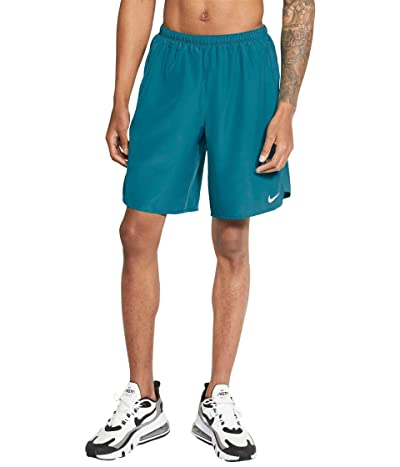 Nike Dri-FIT Challenger Shorts 9 Brief (Blustery/Reflective Silver) Men