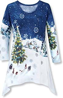 Best christmas tunics for ladies Reviews