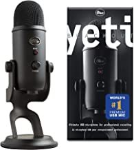 Blue Yeti USB Microphone - Blackout Edition