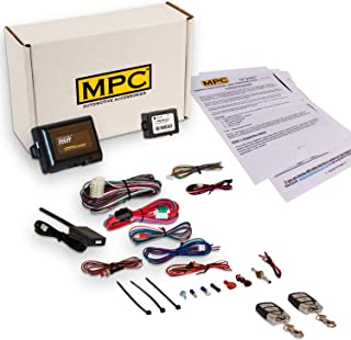 MPC Complete Remote Start Kit with Keyless Entry for 1998-2004 Honda Odyssey - Includes (2) 4 Button Remotes