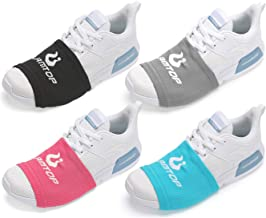 LAMANTOP Shoe Socks for Dancing-Zumba Strong Accessories-Tap Lyrical Dance Shoes Clothes-Over Sneakers Shoe Sliders-Portable Dance Floor-Cize Dance Workout on Wood Smooth Surfaces for Men Women