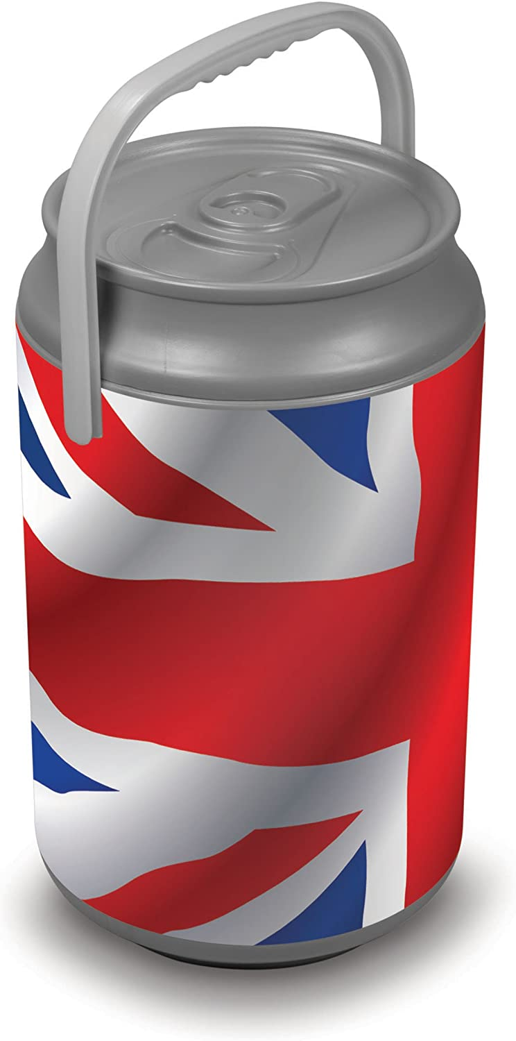 Picnic Time Insulated 27Can Mega Can Cooler, Union Jack