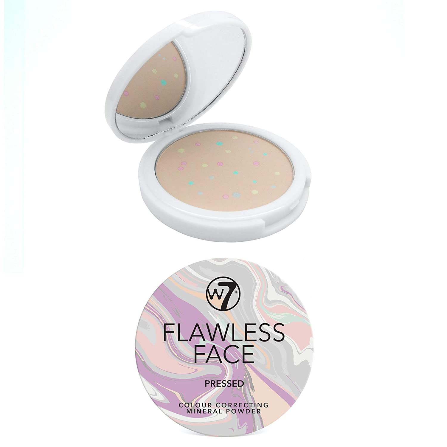Popular brand in the world W7 Flawless Face Color Correcting Pressed Mineral Ranking TOP12 Fac Powder