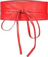 acquista il più recente le migliori scarpe super speciali Amazon.it: Cintura rossa ecopelle