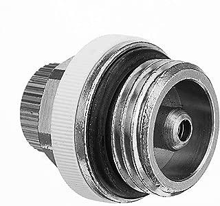 TOYECOTA - 1/2 Inch 30x30mm Copper Automatic Air Vent Auto Cut Off Self Bleeding Radiator Valve for Venting Heating Radiator