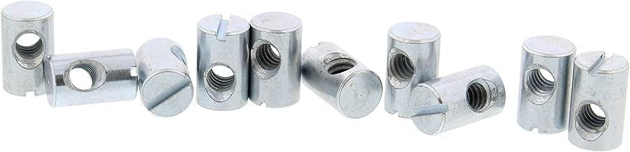 2pcs M16 x 1.5mm Pitch Stainless Steel Left Hand Fine Thread Hex Nut Metric ABBOTT