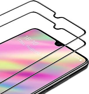 TAMOWA skärmskydd för Samsung Galaxy A31, 2-pack, helskärm premium härdat glasfilm 9H hårdhet skottsäker skärmskydd, anti-...