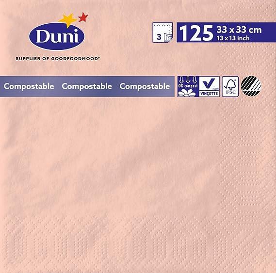 Duni 174173 3 Lagig Tissue Servietten 33 Cm X 33 Cm Mellow Rose 1000 Stück Gewerbe Industrie Wissenschaft