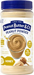 Peanut Butter & Co. Honey Peanut Powder, Gluten Free, 6.5 Ounce Jar