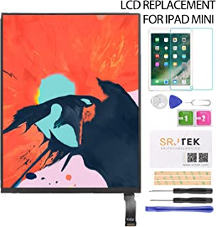 SRJTEK For iPad Mini 第一代 A1432 A1455 A1454 修理交換用 LCD液晶パネル ディスプレイ 7.9 修理パーツ付き