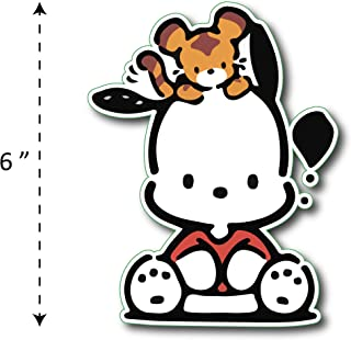 (TK-186) Pochacco - Waterproof Vinyl Sticker for Laptops Tablets Cars Motocycles Bicycle Skateboard Luggage Or Any Flat Surface (6