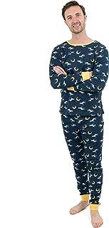 Mens Pajamas 2 Piece Pajama Set 100% Cotton (Size Small-XX-Large)