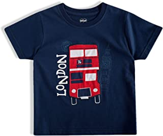 Camiseta London e New York Tip Top meninos