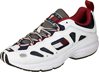 Tommy Hilfiger Heritage Retro Men Sneakers, White (Rwb)