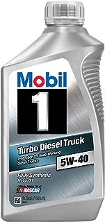 Mobil 1 44986 5W-40 Turbo Diesel Truck Synthetic Motor Oil - 1 Quart (Pack of 6)