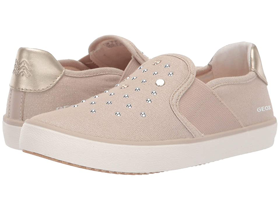 Geox Kids Kilwi Girl 50 (Little Kid) (Light Beige) Girl