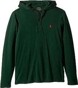 30/1 Jersey Long Sleeve Hooded T-Shirt