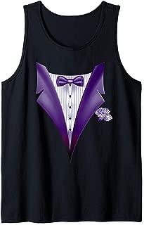 Best dark grey tux with purple Reviews