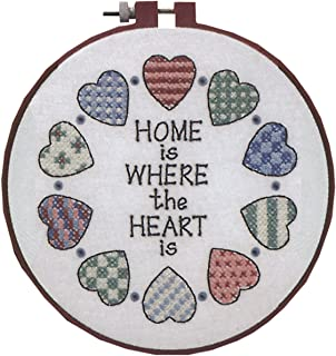 Dimensions Needlecrafts Stamped Cross Stitch, Home and Heart