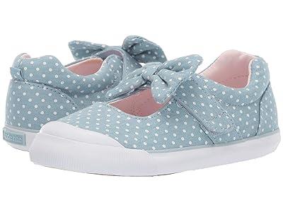 Stride Rite SR Rosalie (Toddler) (Chambray) Girls Shoes