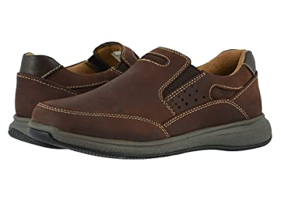 Florsheim Kids Great Lakes Sport Slip, Jr. (Toddler/Little Kid/Big Kid) (Brown Crazy Horse) Boy