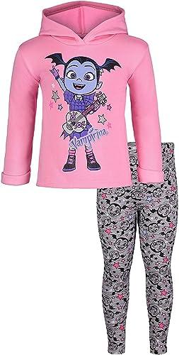 Disney Vampirina Pullover Hooded Legging Set Pink