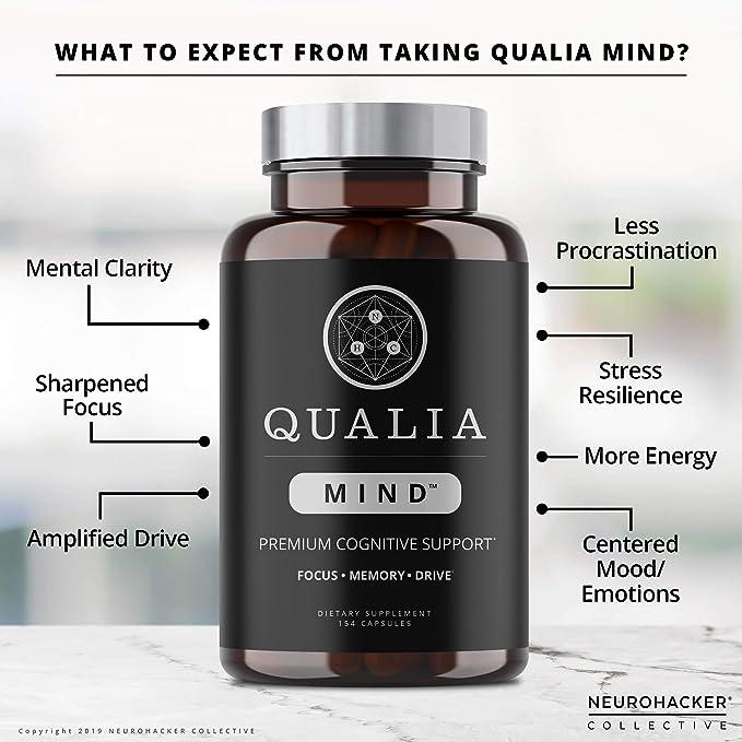 Qualia Mind Nootropics | Top Brain Supplement