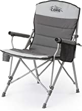CORE Equipment Folding Padded Hard Arm Chair