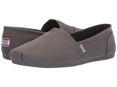 BOBS from SKECHERS Bobs Plush Peace and Love (Dark Gray) Women